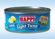 Happi Tuna Flakes in Water